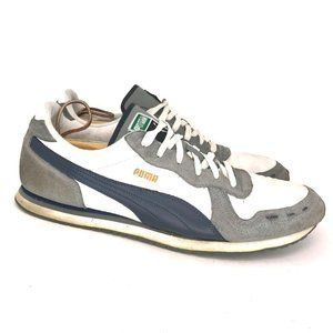 Puma Mens 34716312 Gray Athletic Sneakers Size 14